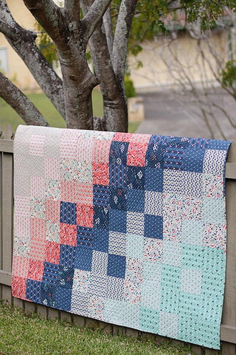 Image of: Images Modern Baby Quilt Patterns
