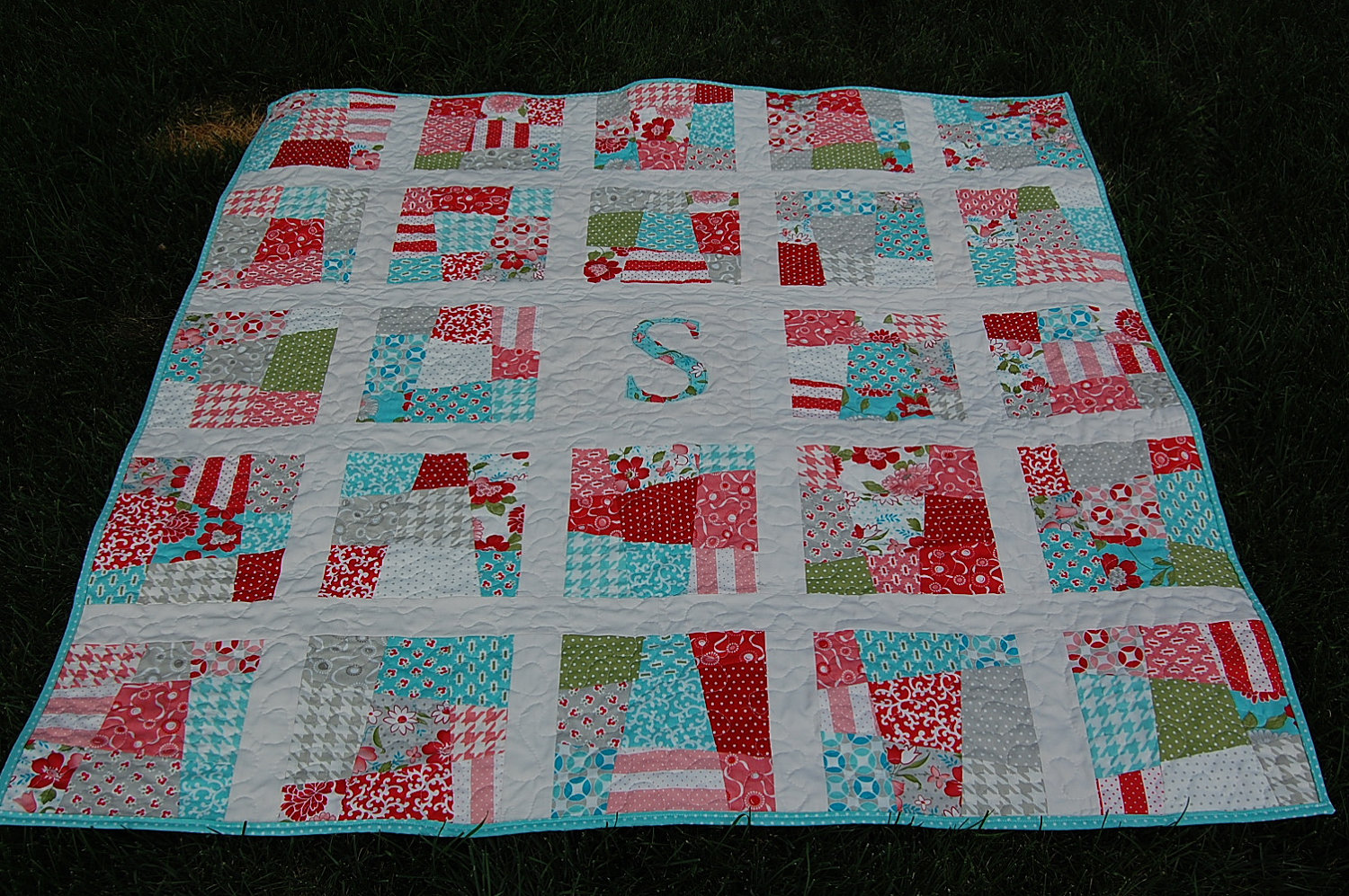 Picture of: Initial Baby Quilt Patterns