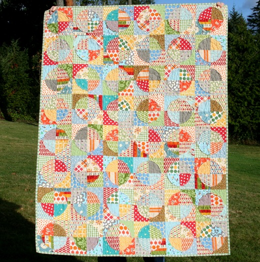 Picture of: Innovative Circle Quilt Patterns