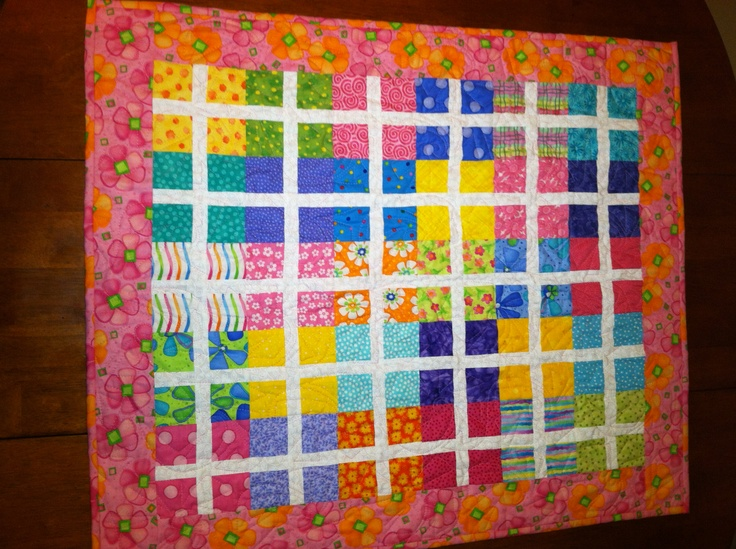 Image of: Innovative Fat Quarter Baby Quilt