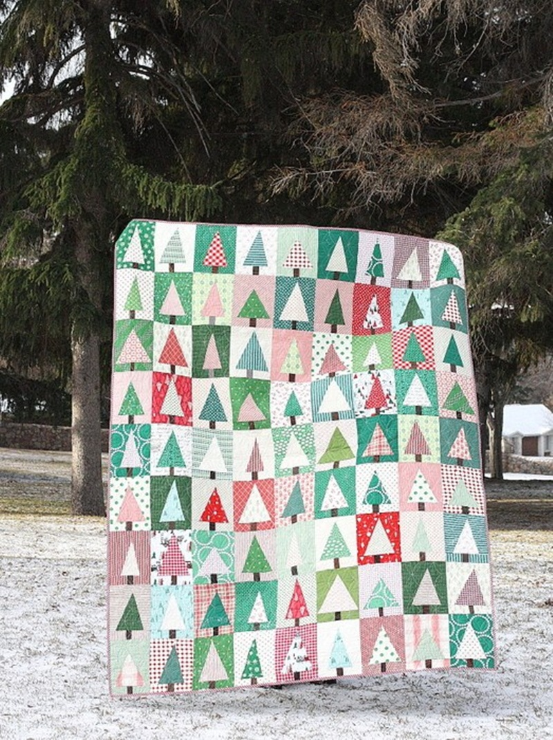 Picture of: Inspiration Christmas Quilt Patterns