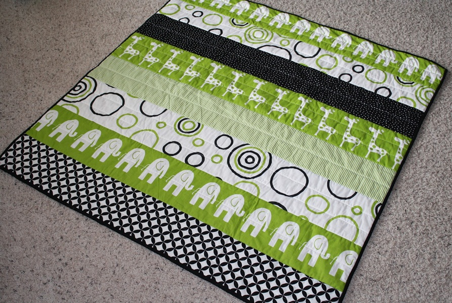 Inspiration Modern Baby Quilt Patterns
