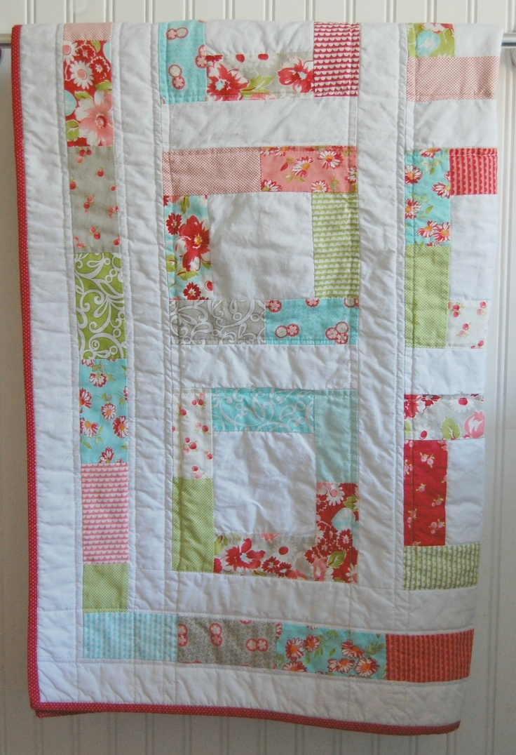 Image of: Interest Baby Patchwork Quilt