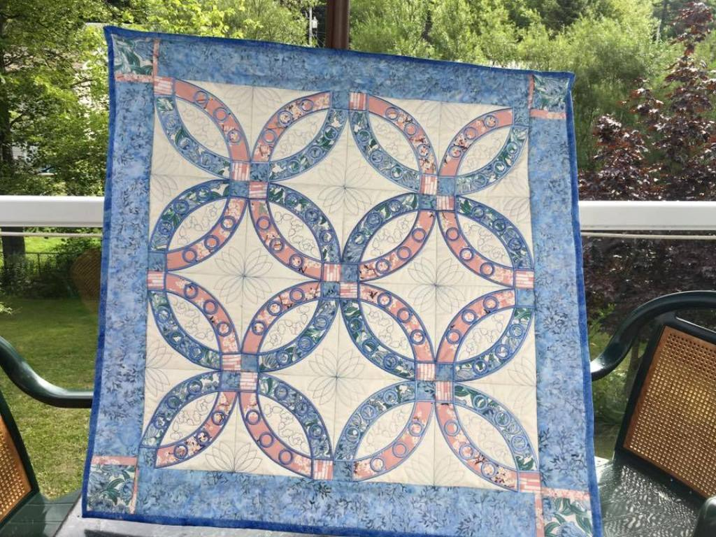 Image of: Irish Wedding Quilt Patterns