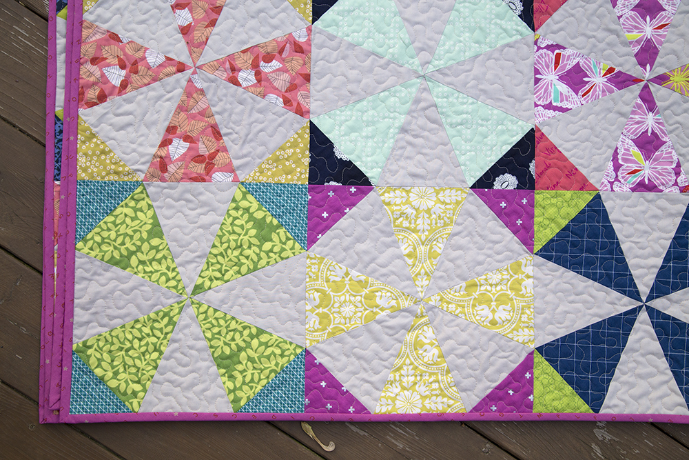 Image of: Kaleidoscope Quilt Pattern Girls