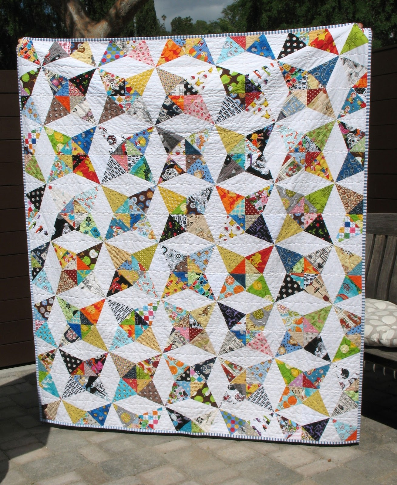 Image of: Kaleidoscope Quilt Pattern Models