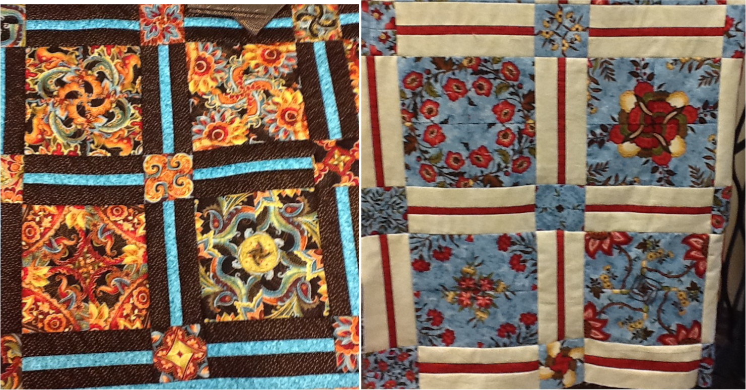 Image of: Kaleidoscope Quilt Pattern Opt