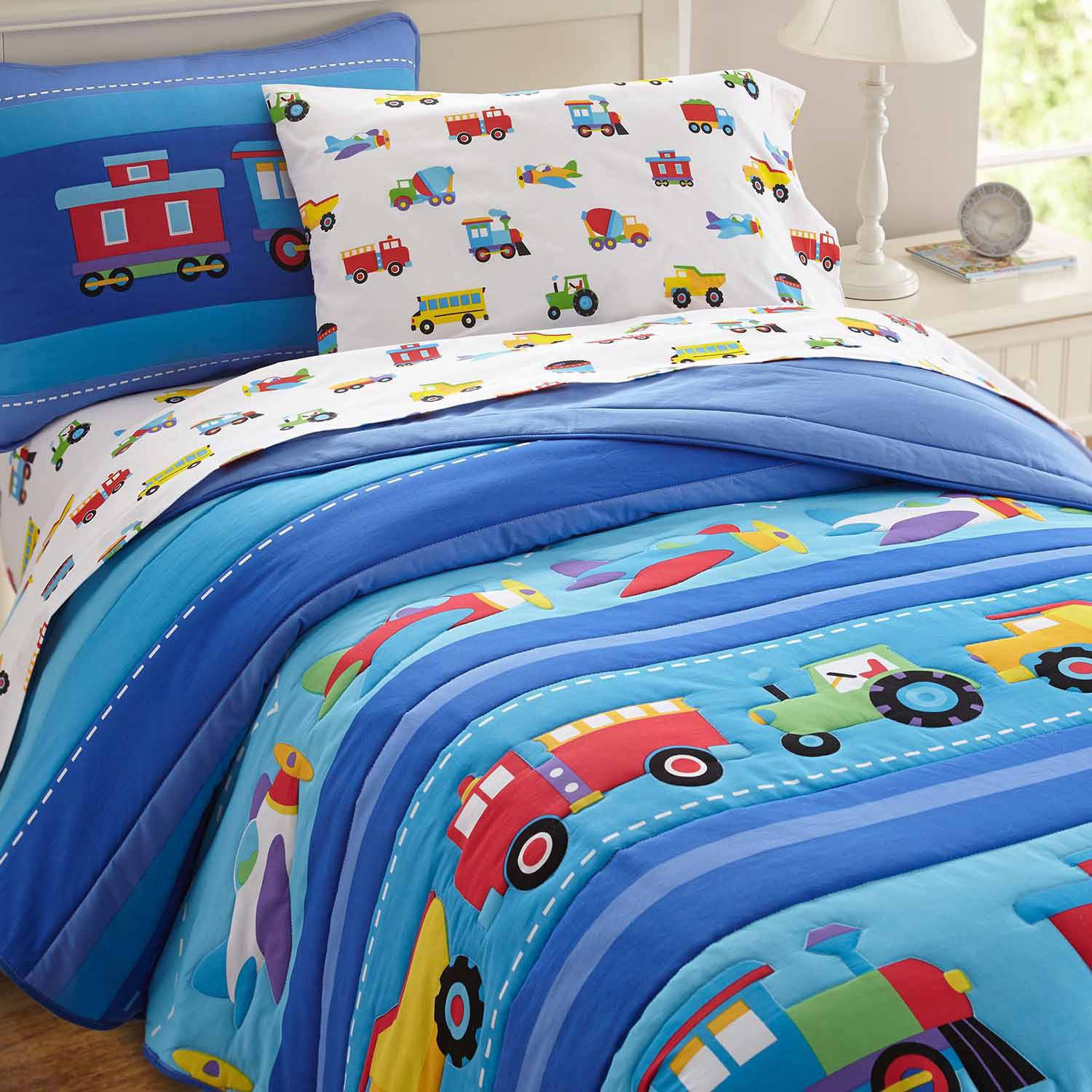 Picture of: Kids Quilt Patterns Blue