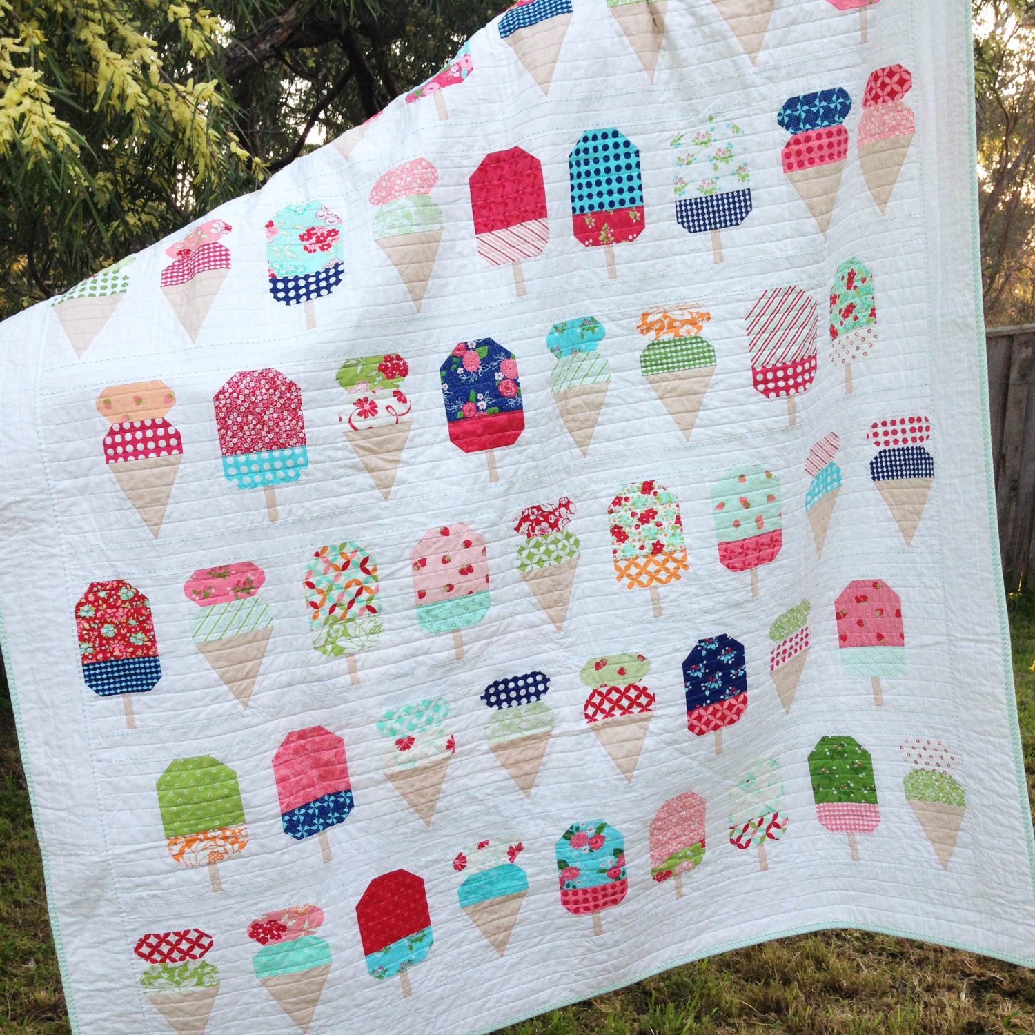 Kids Quilt Patterns White