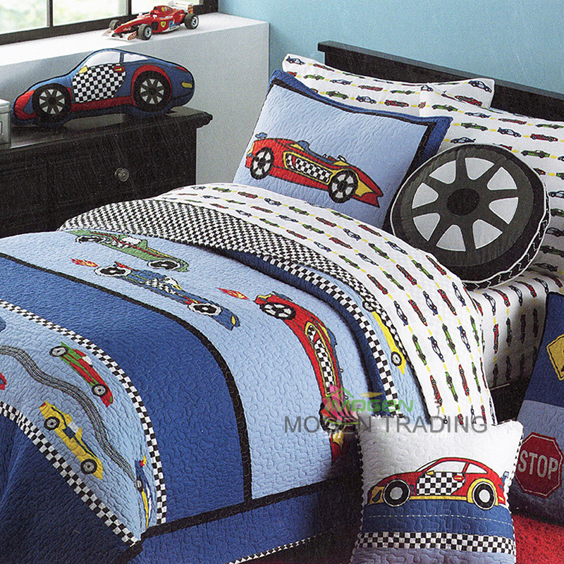 Image of: King Size Quilt Patterns Boys