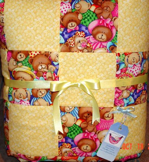 Image of: Large Baby Quilts