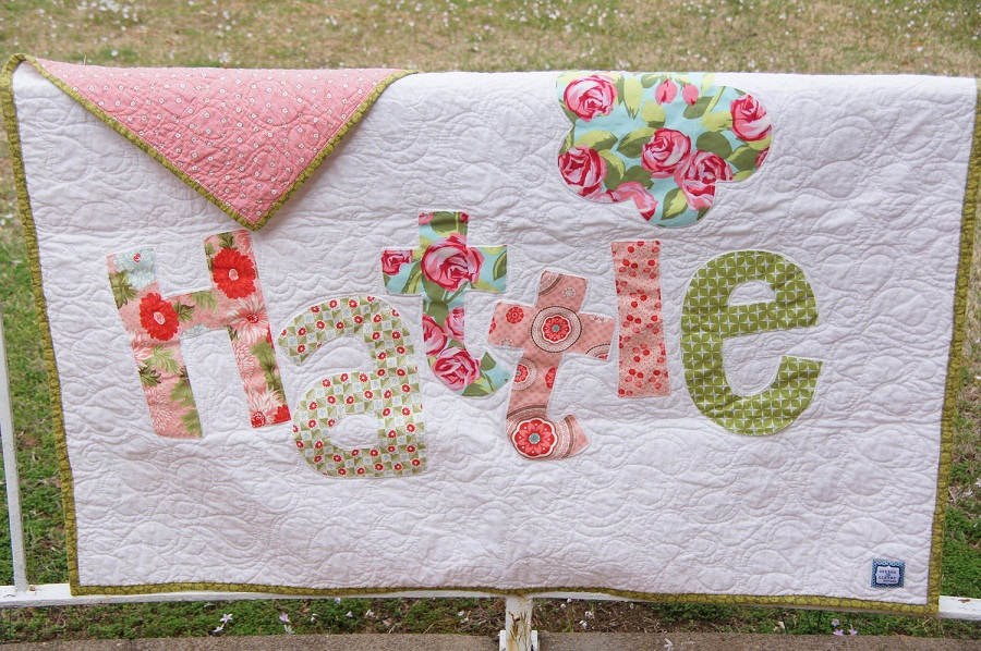 Picture of: Large Personalized Baby Quilts