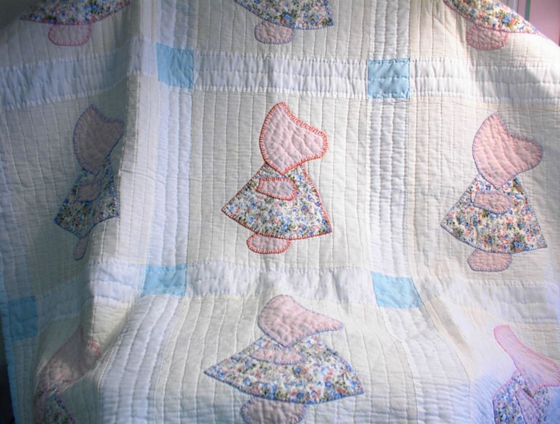 Image of: Little Baby Girl Quilt Patterns