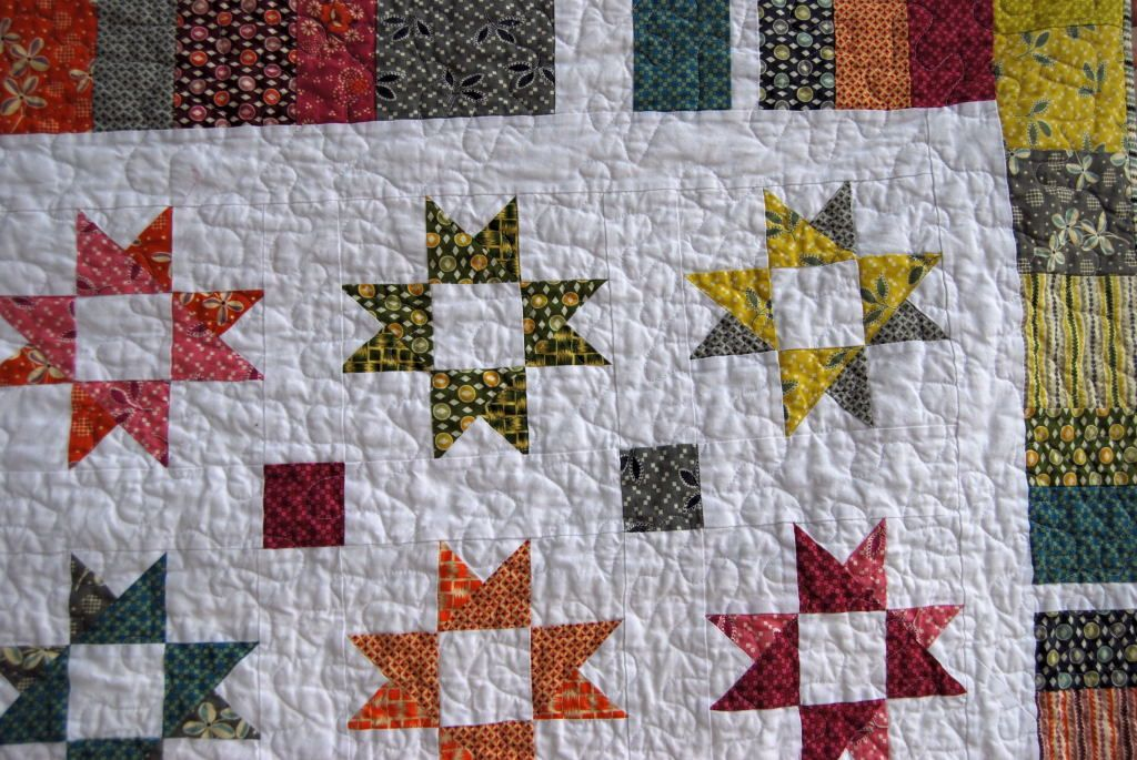 Image of: Lone Star Quilt Pattern