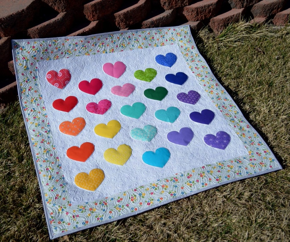Image of: Love Baby Quilts