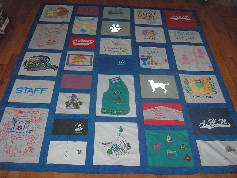 Image of: Making T Shirt Quilt Pattern