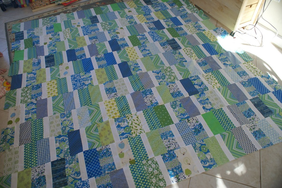 Image of: Model Batik Quilt Patterns