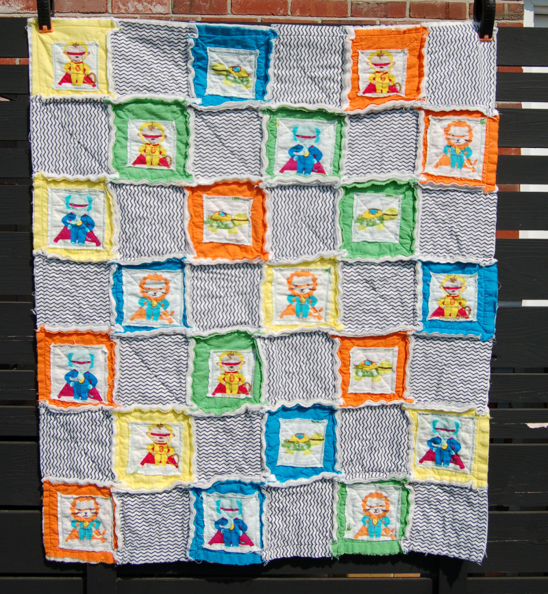Modern Baby Boy Quilt Ideas