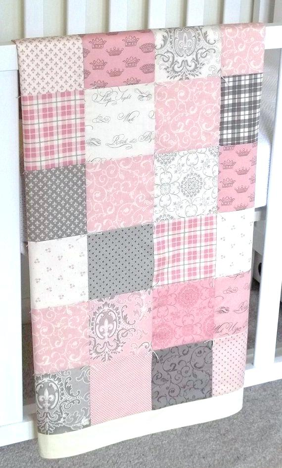 Image of: Modern Baby Patchwork Quilt