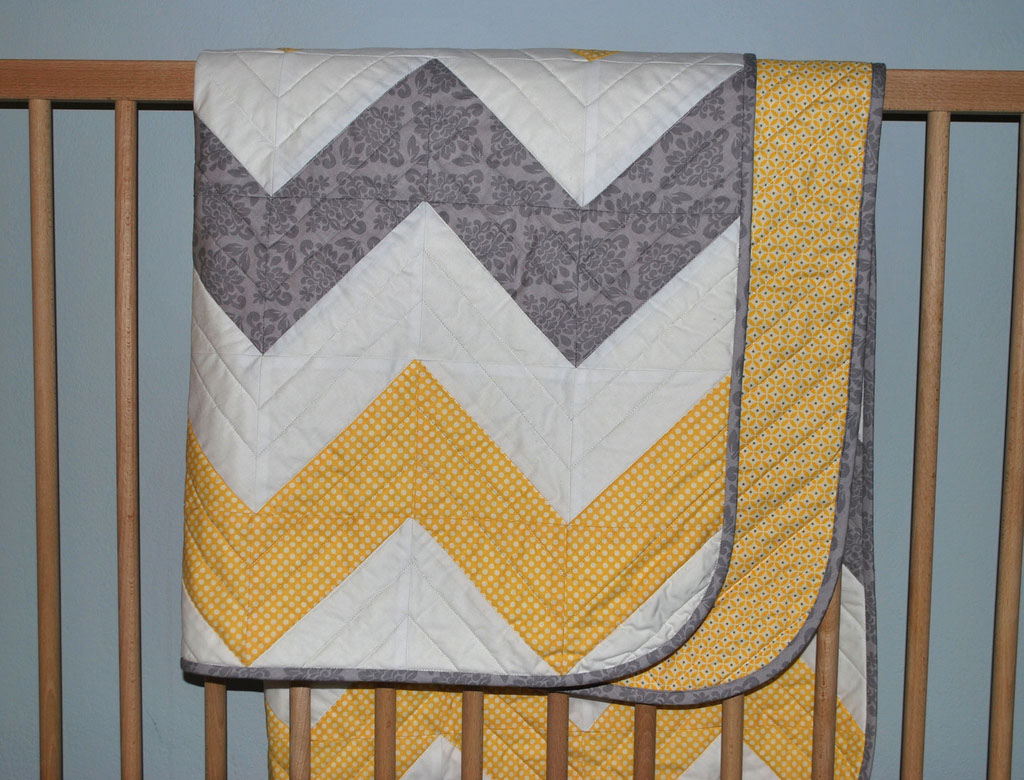 Image of: Modern Baby Quilt Designs