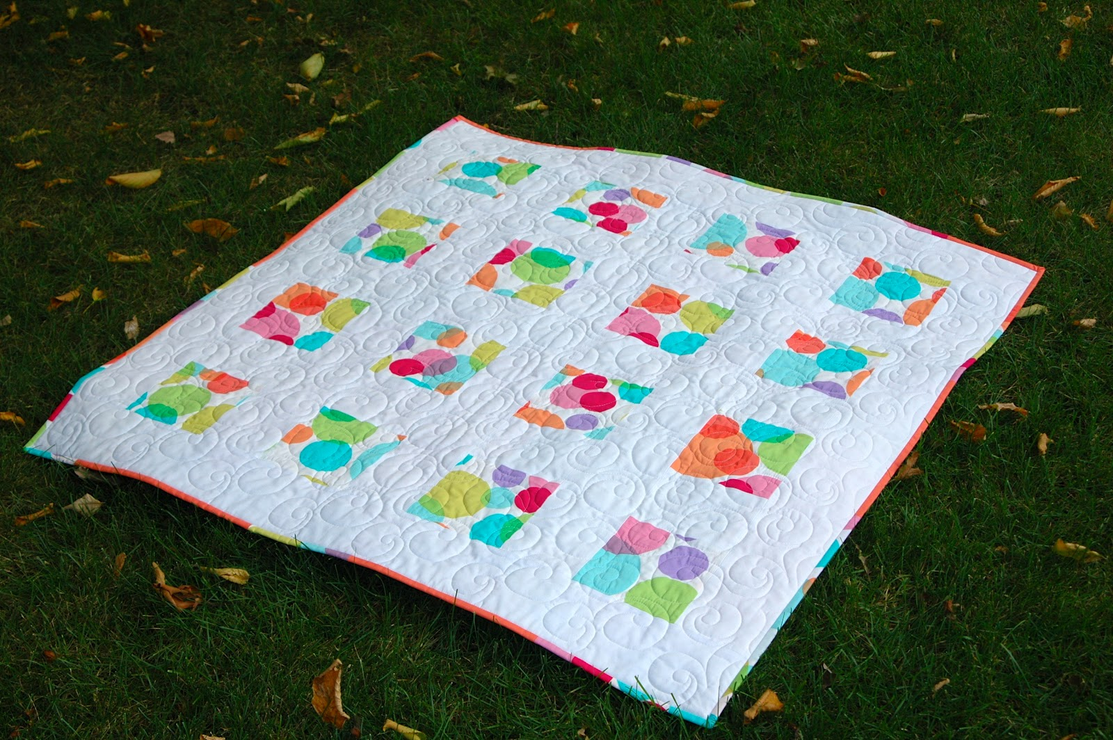Image of: Modern Baby Quilt Images