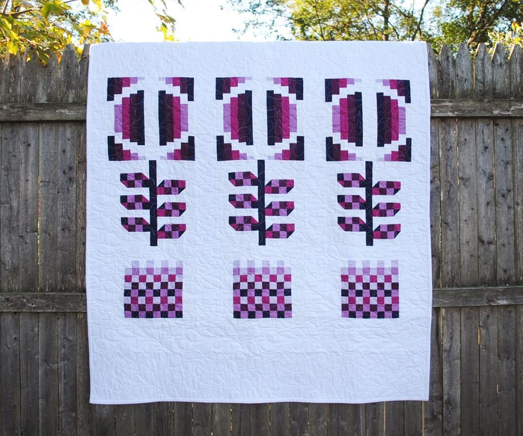 Image of: Modern Baby Quilt Patterns