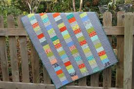 Image of: Modern Baby Quilt Tutorial