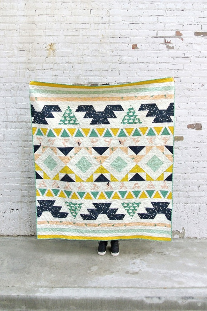 Picture of: Modern Quilt Patterns Ideas
