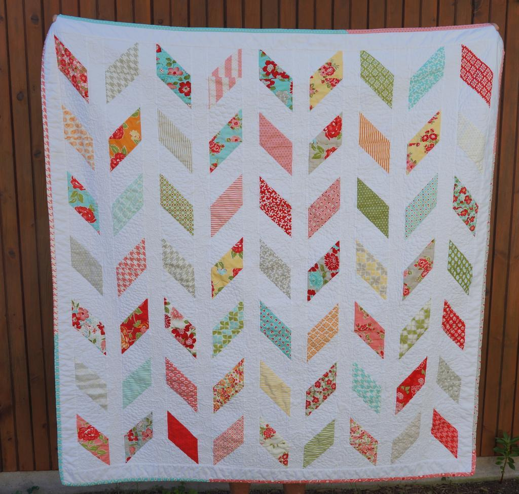 Image of: Modern Quilt Patterns for Beginners