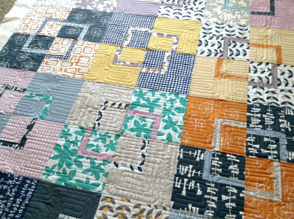 Image of: Modern Quilt Patterns for Men