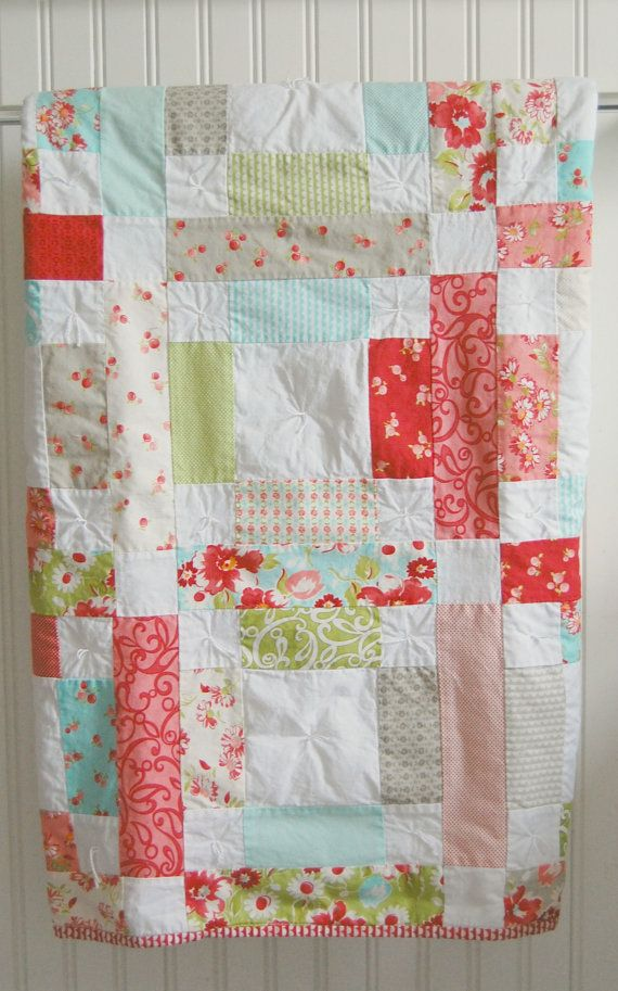 Image of: Nice Baby Patchwork Quilt