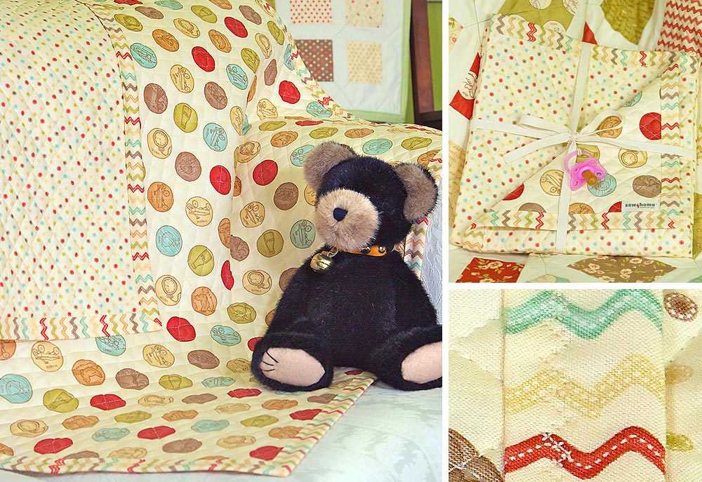 Picture of: Nice Baby Quilt Panels