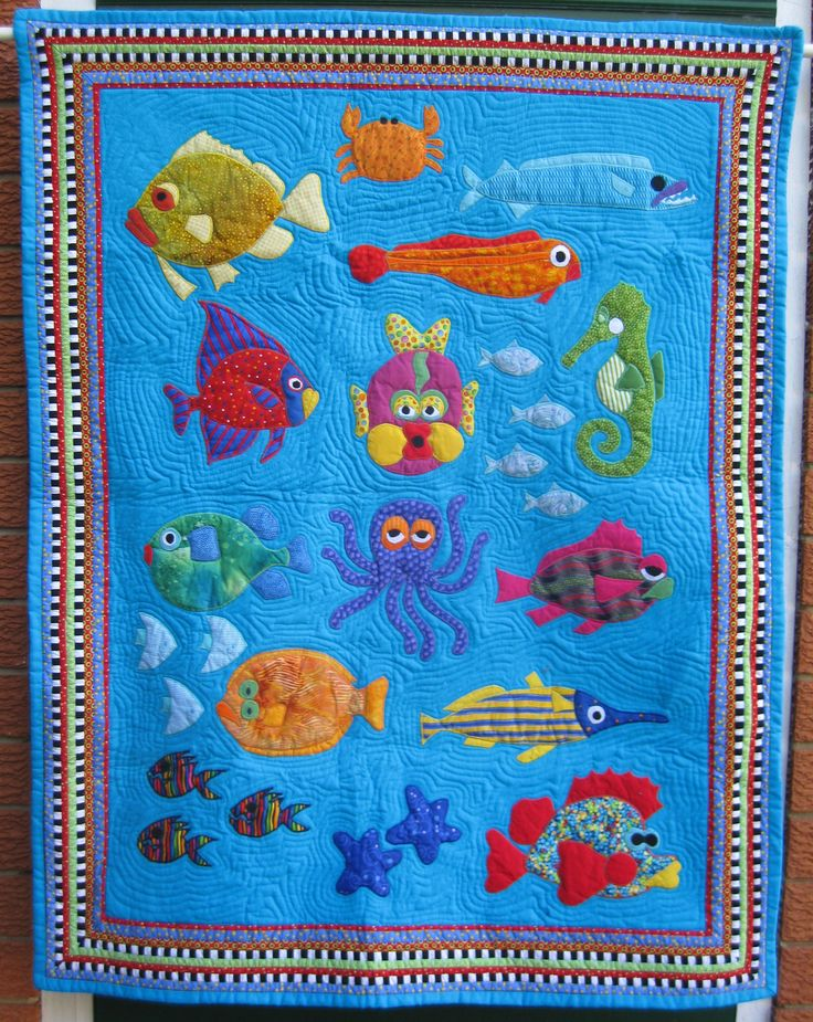 Picture of: Nice Fish Quilt Pattern