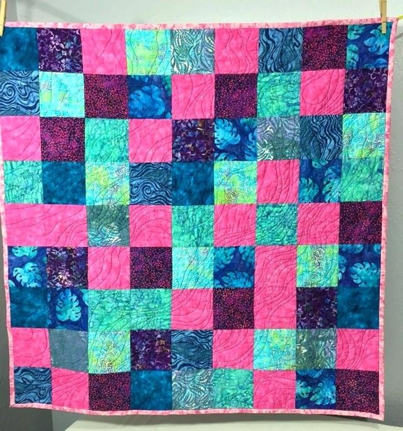 Image of: Nice Hawaiian Quilt Patterns
