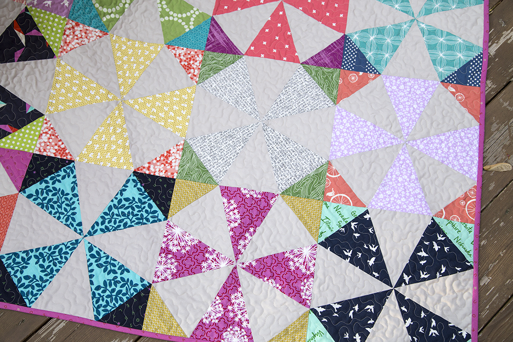 Image of: Nice Kaleidoscope Quilt Pattern