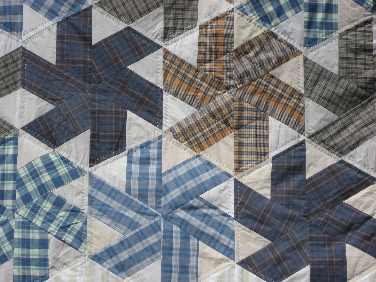 Image of: Nice Quilt Patterns for Men