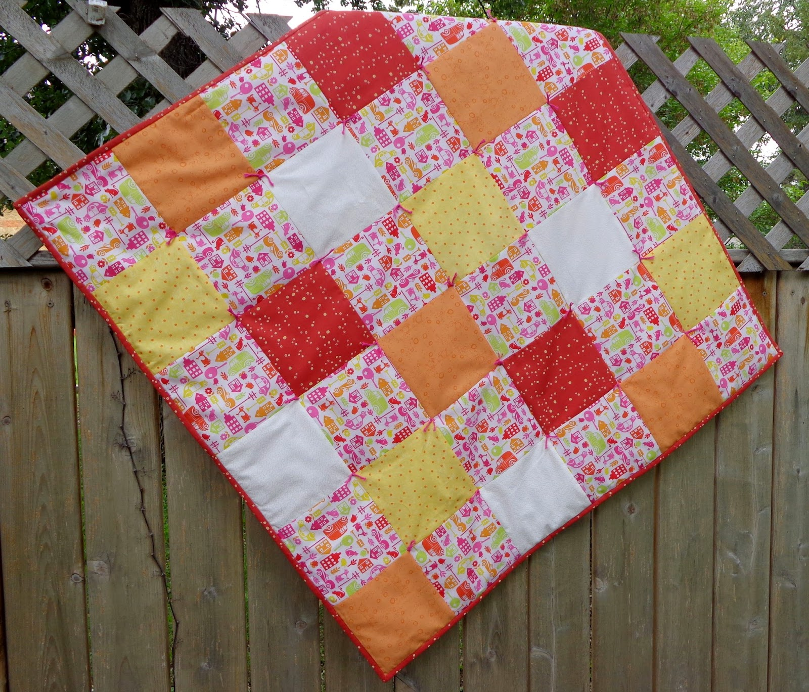 Picture of: Nice Simple Baby Quilt