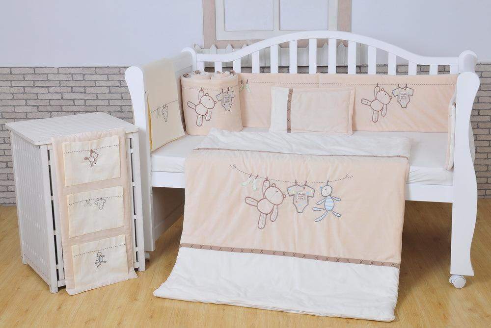 Picture of: Nursery Baby Quilt Fabric Panels