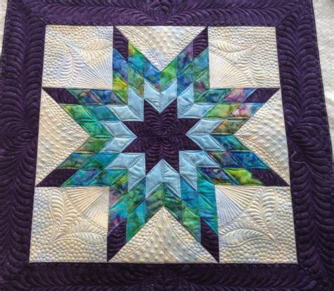 Image of: Original Lone Star Quilt Pattern