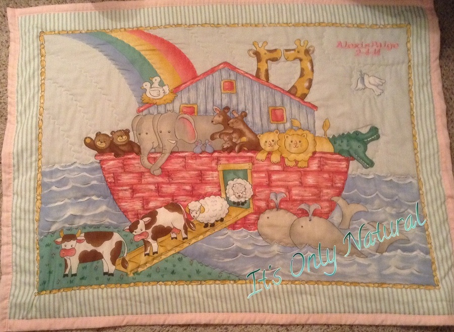 Picture of: Original Personalized Baby Quilts