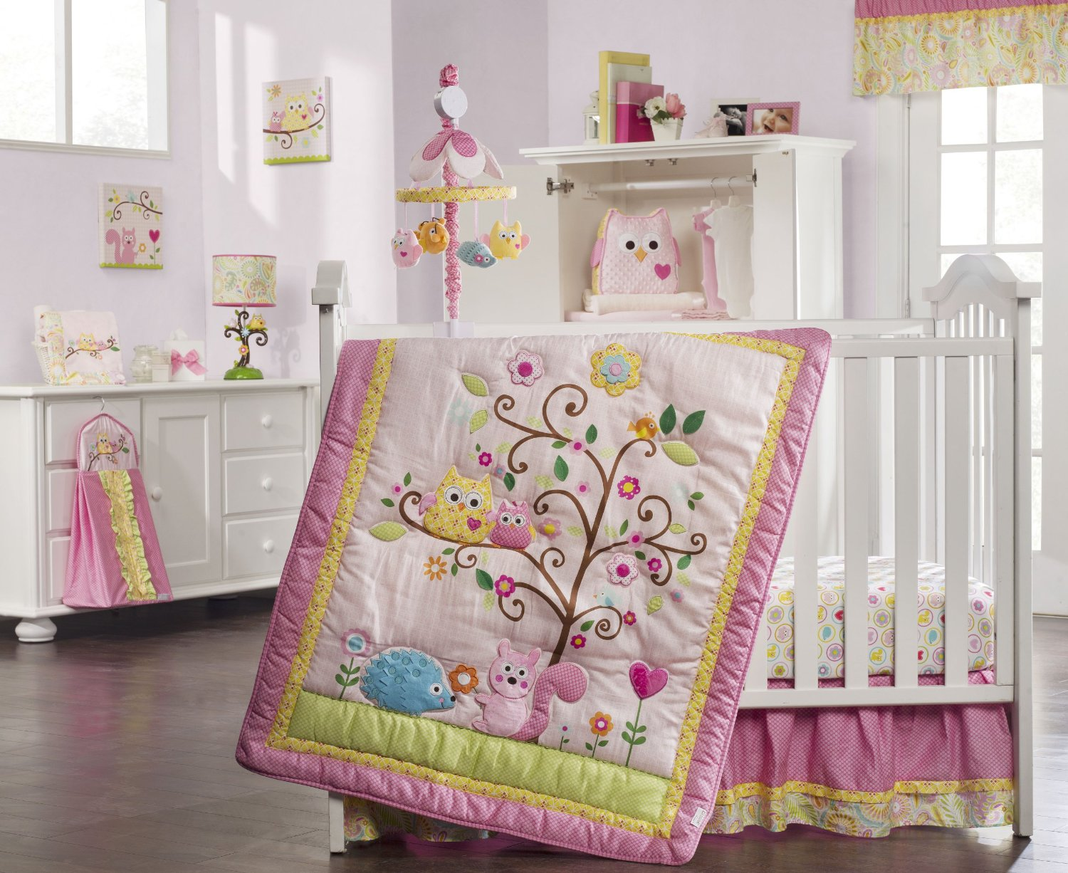 Image of: Owl Baby Quilt Theme