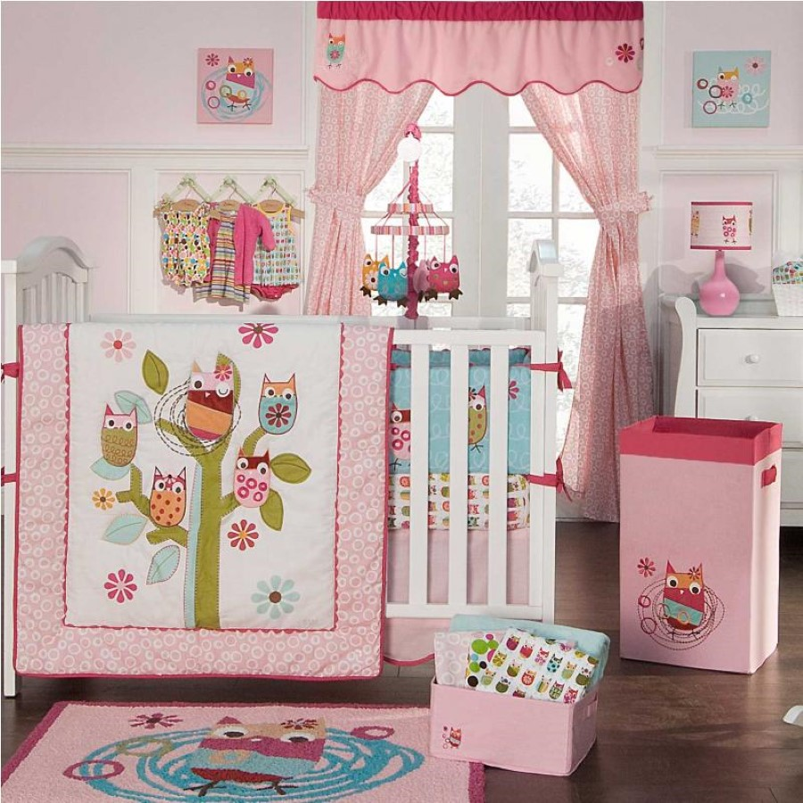 Image of: Owl Baby Quilt and Rugs