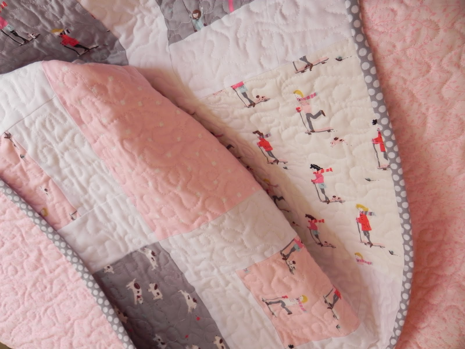 Image of: Pack Quilt Patterns Options Girl