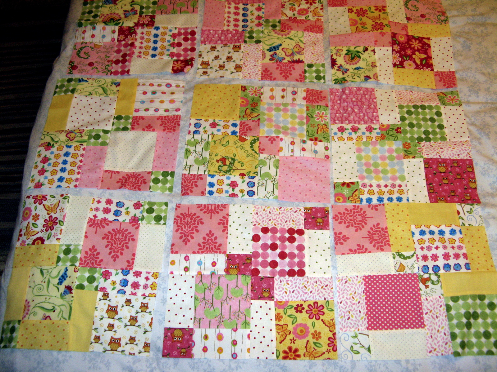 Image of: Pack Quilt Patterns Options Pink