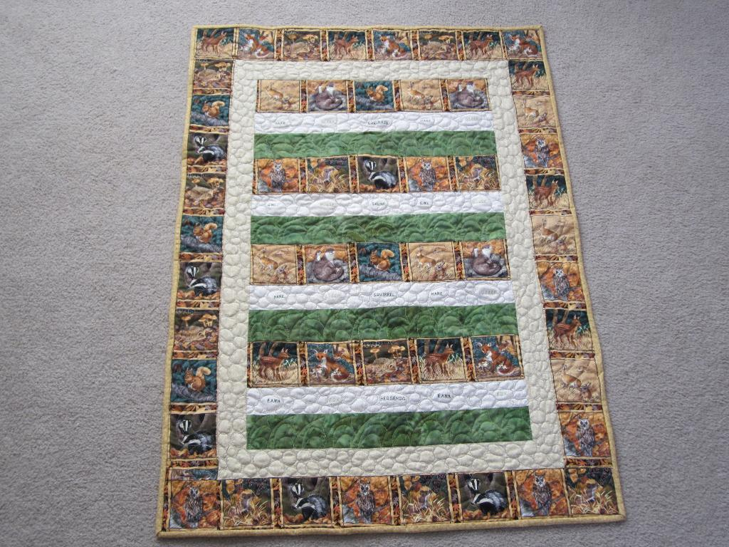 Picture of: Panel Quilt Patterns Animal