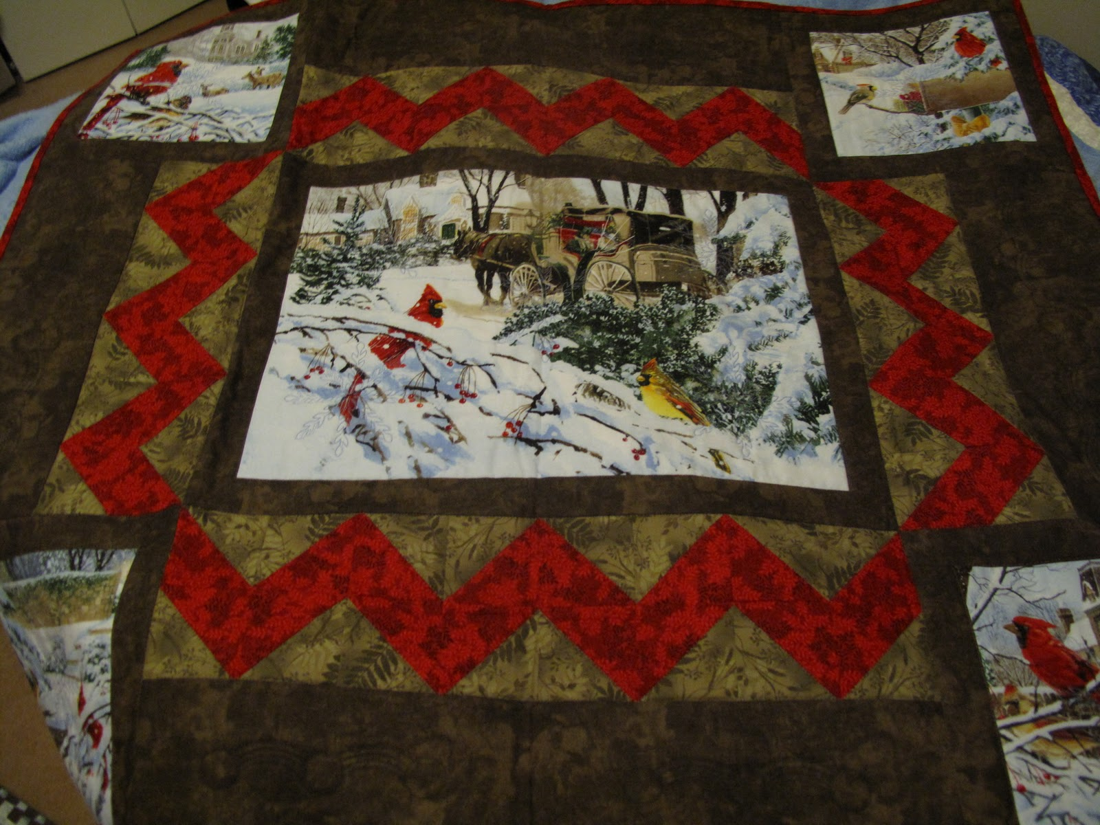Picture of: Panel Quilt Patterns Fabric