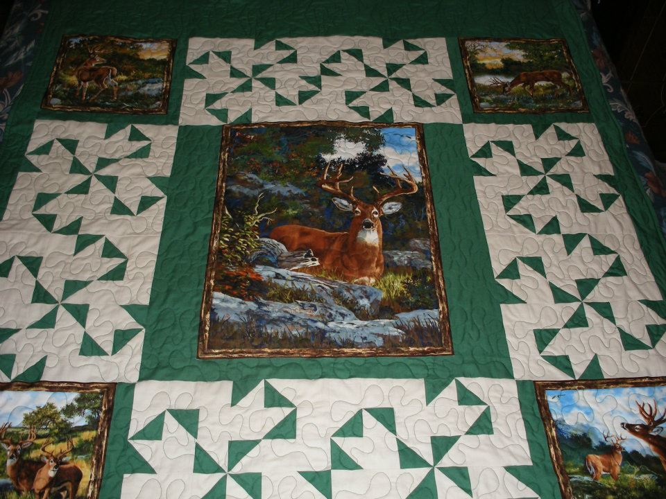 Picture of: Panel Quilt Patterns Image
