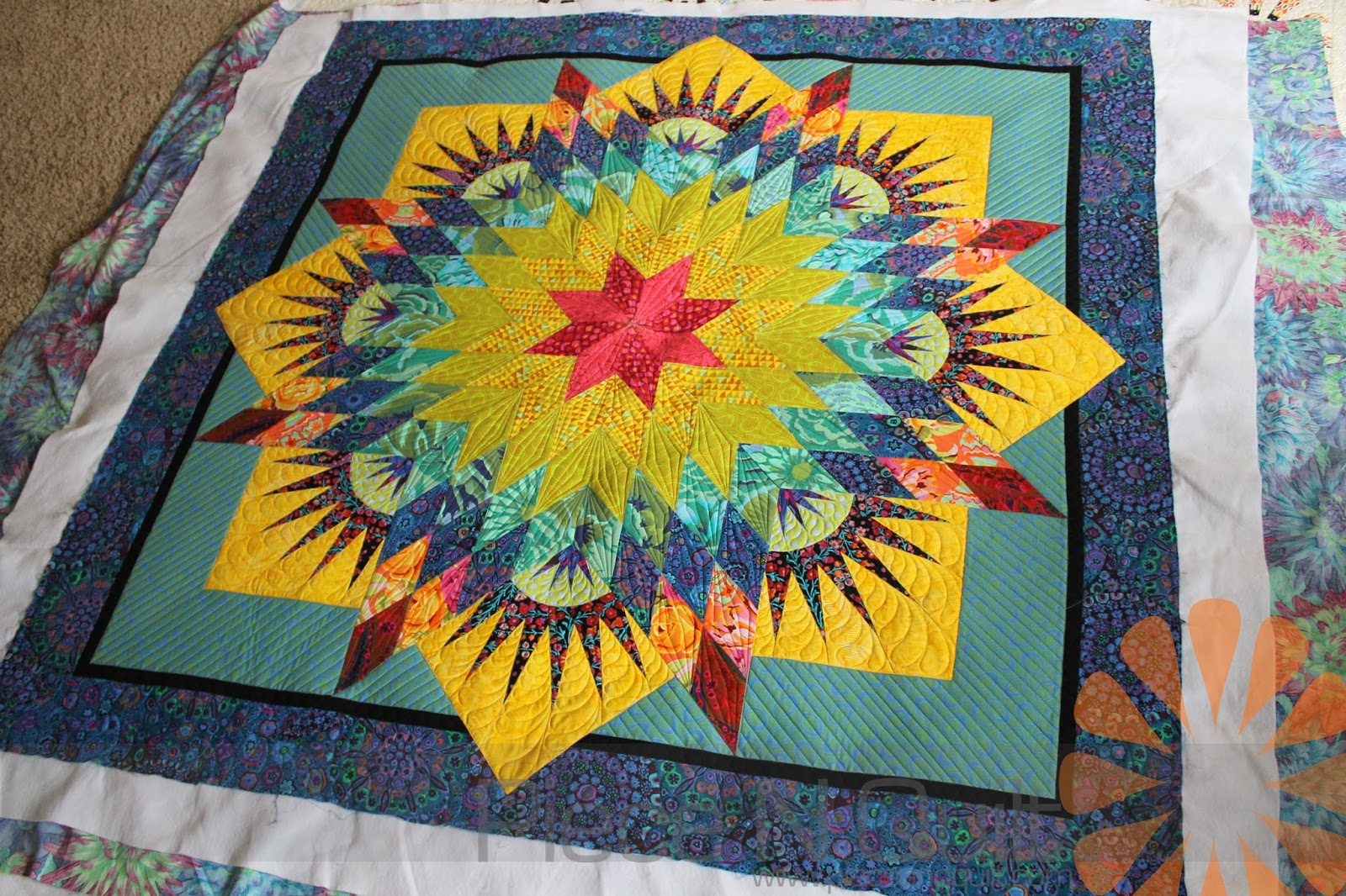 Image of: Paper Pieced Quilt Patterns Awesome