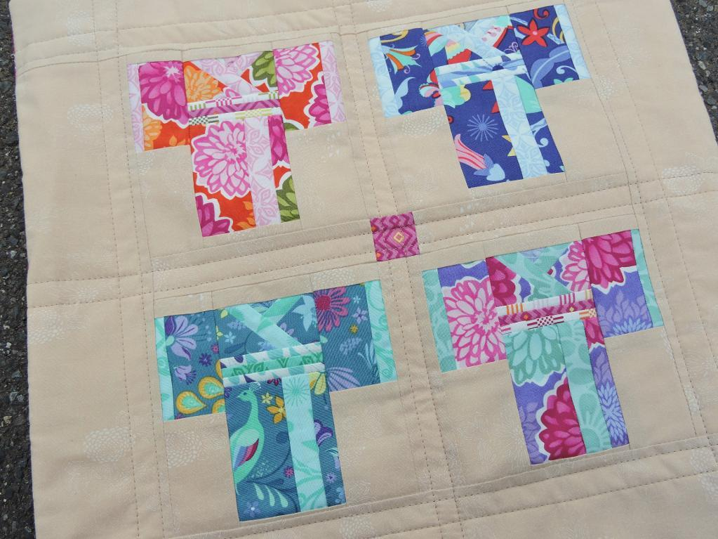 Image of: Paper Pieced Quilt Patterns Block