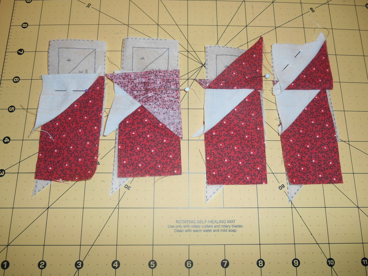 Image of: Paper Pieced Quilt Patterns Models